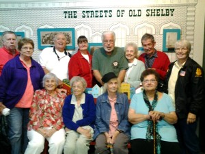 Folks from the Greenfield Senior Services visited Grover Museum
